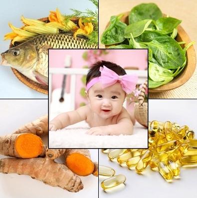thực phẩm cho bé