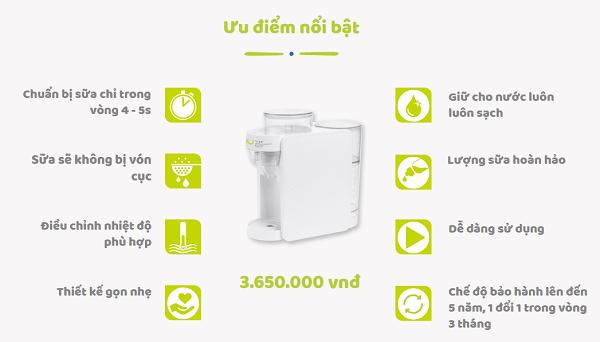 Ưu điểm của máy pha sữa tự động
